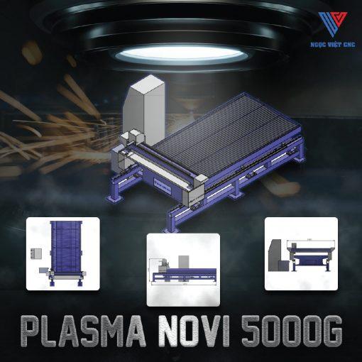 Ngọc Việt CNC - Máy Cắt Plasma Novi 5000G