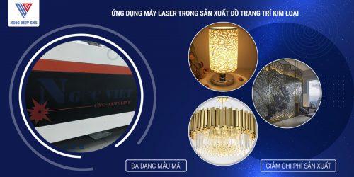 Ứng Dụng Mát Cắt Laser Fiber CNC tạo ra Đèn Trang Trí