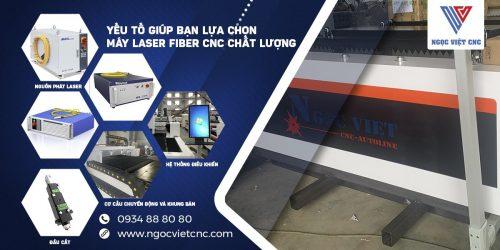 yếu tố lựa chọn máy cắt laser fiber chất lượng
