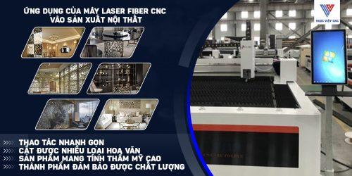 ứng dụng máy cắt laser fiber tạo ra đồ nội thất