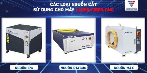 các loại nguồn cắt laser fiber cnc