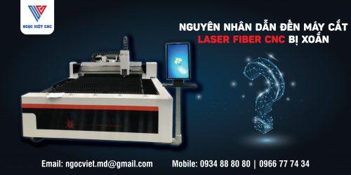 nguyên nhân dẫn đến máy cắt laser fiber bị xoắn